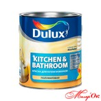 Краска Dulux Kitchen&Bathroom 1 л Арт. 100137