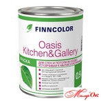 Краска TIKKURILA FINNCOLOR OASIS KITCHEN&GALLERY 0,9 л  Арт. 100312